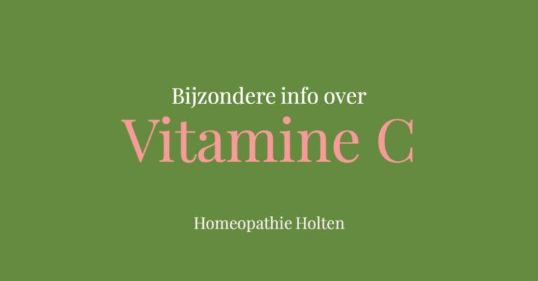 Het verhaal achter vitamine C