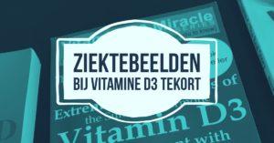 Vitamine D3 tekort: de ziektebeelden
