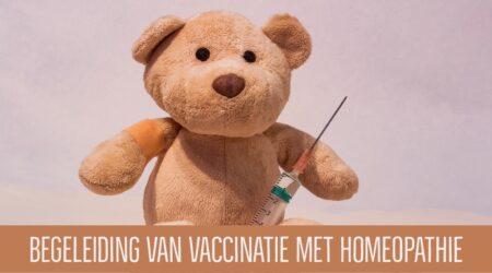 begeleiding van vaccinatie met homeopathie